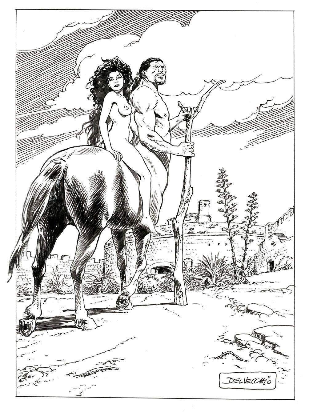 Centauro by Pasquale Vecchio