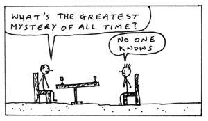John King Black and White Cartoons 1