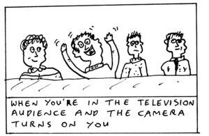 John King Black and White Cartoons 4