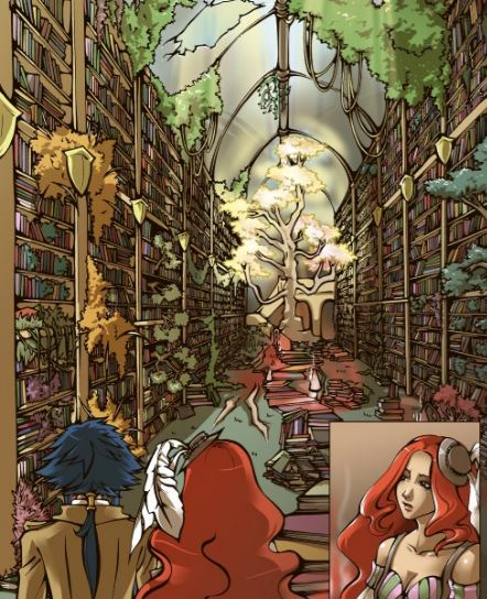 Library by Hell Oscillations by Sissy Pantelis
