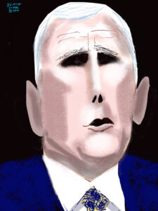 Mike Pence by Peter Dunlap-Shohl