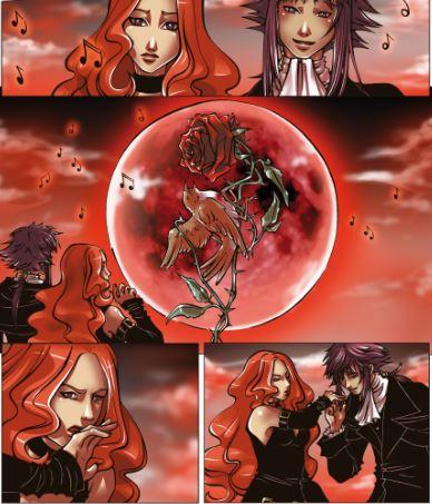 Red Moon by Sissy Pantelis