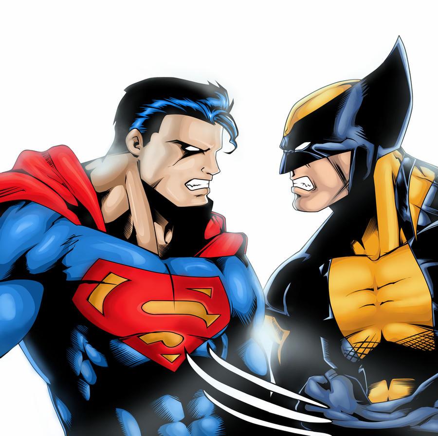 Superman Wolverine