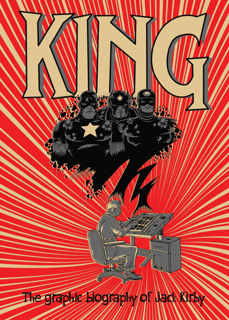 King Jack Kirby 00 cover