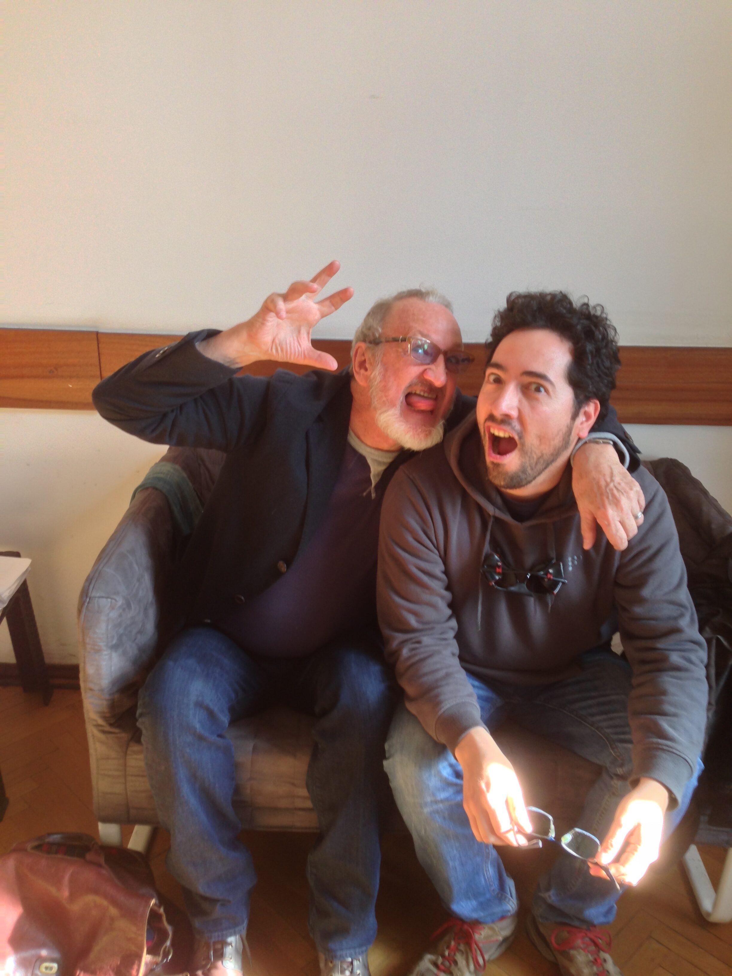 Patricio Valladares with Robert Englund9 rotated